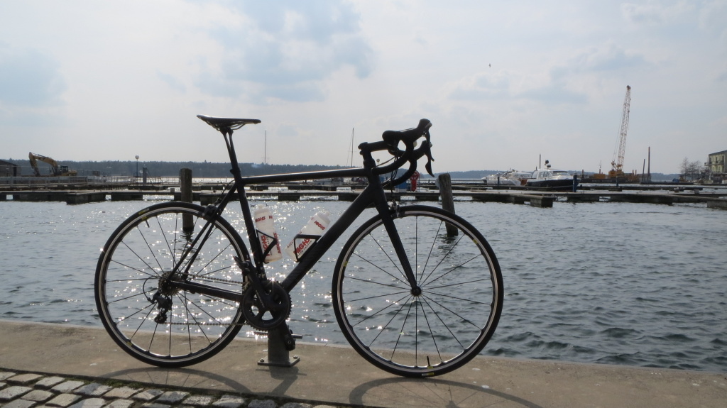 Mein Canyon Ultimate AL SLX 9.0 SL - hier in Waren an der Müritz
