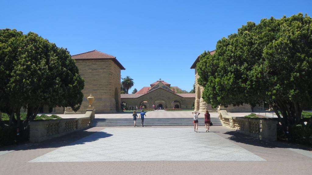 Auf dem Stanford-Campus konnte man den Erfindergeist quasi schmecken
