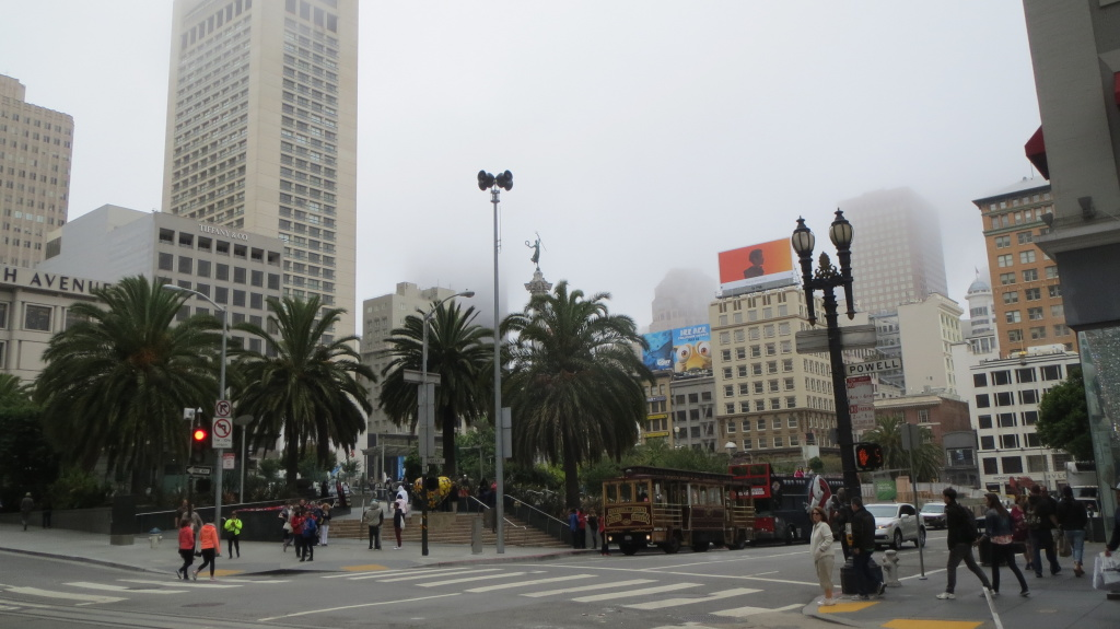 Grau und kalt: Im Gegensatz zum sonnigen Tag gestern war das Wetter heute sehr trüb