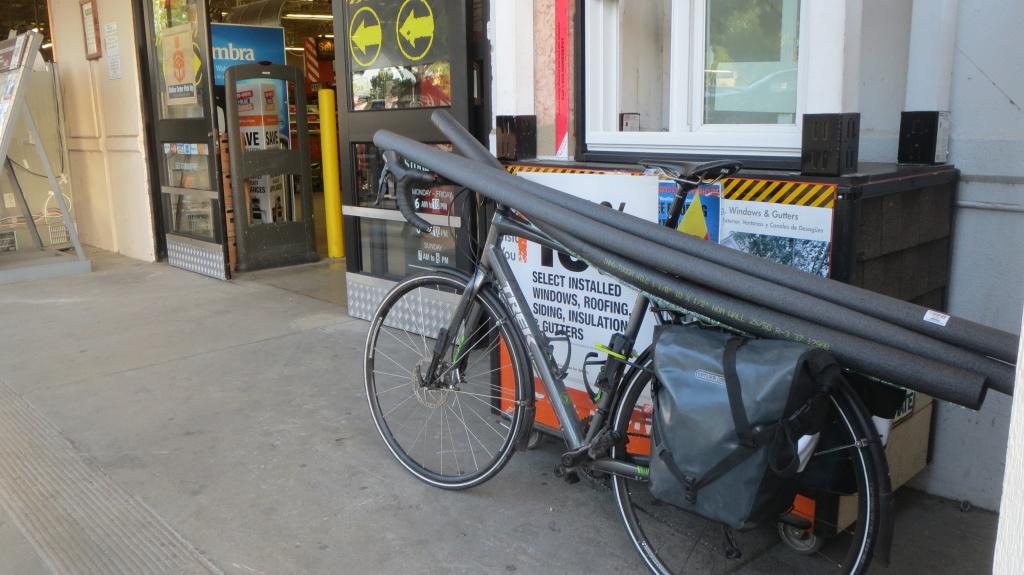 Nichts, was man nicht auf dem Rad transportieren kann