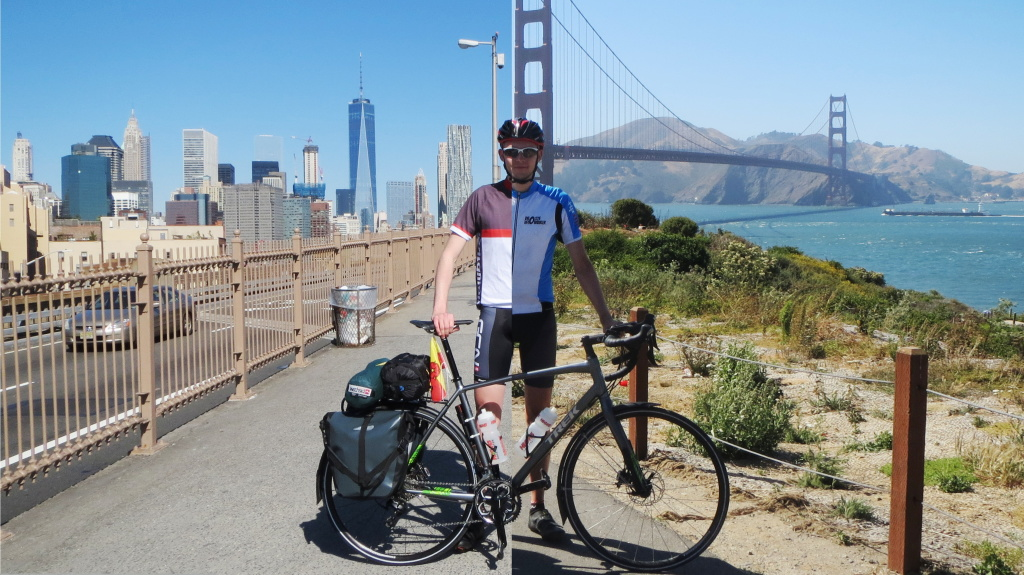 Links vor zweieinhalb Monaten in New York City und rechts letzte Woche in San Francisco