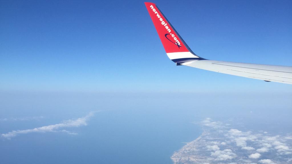 Das erste Mal am Mittelmeer - dank Umwegen auf dem Rückflug