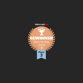 Wir sind Platz 3 der besten Rennrad-Blogs